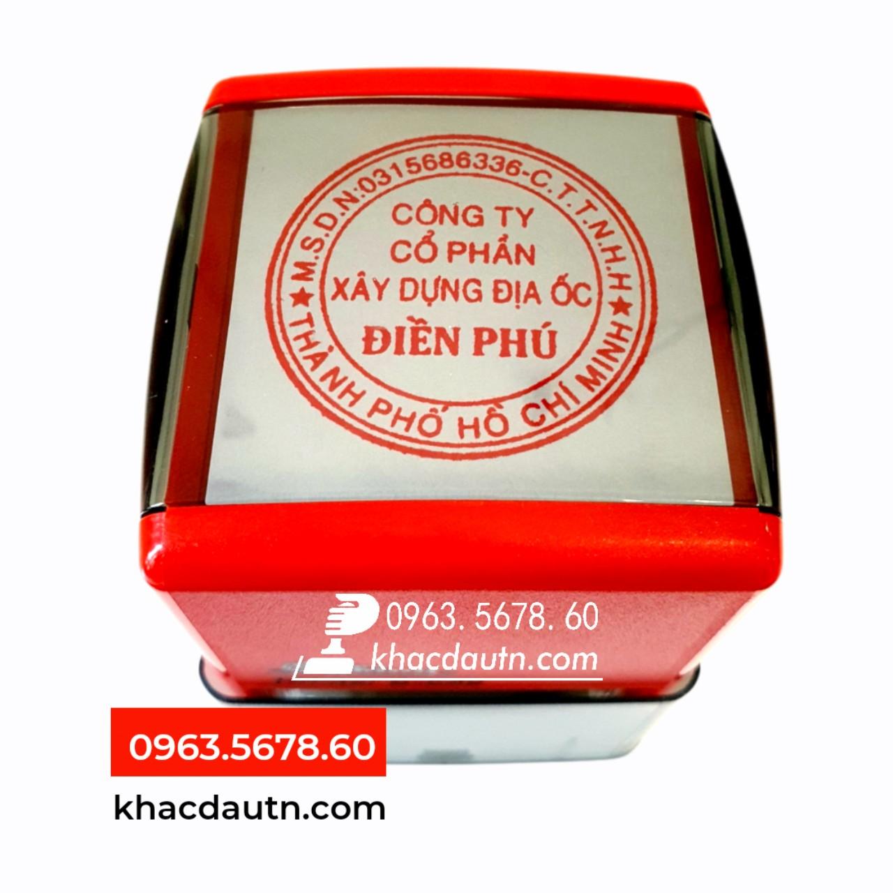 Khắc con dấu tròn doanh nghiệp - 0963.5678.60 Chuyên Cung Cấp Và Sản Xuất Giao Công Con Dấu - Luôn Có Nhiều Ưu Đãi Giảm - Xuất HD VAT 10%