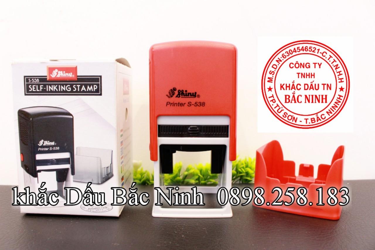 Dịch vụ khắc dấu công ty tại Bắc Ninh, nhận gia công và phân phối các loại con dấu gia công giá rẻ.