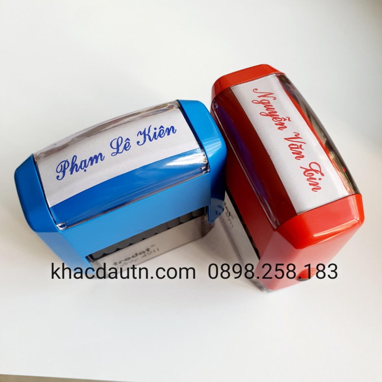 khắc con dấu tên giá rẻ giảm giá với khách đặt số lượng nhiều, Dịch Vụ Khắc Dấu Tên Bắc Ninh