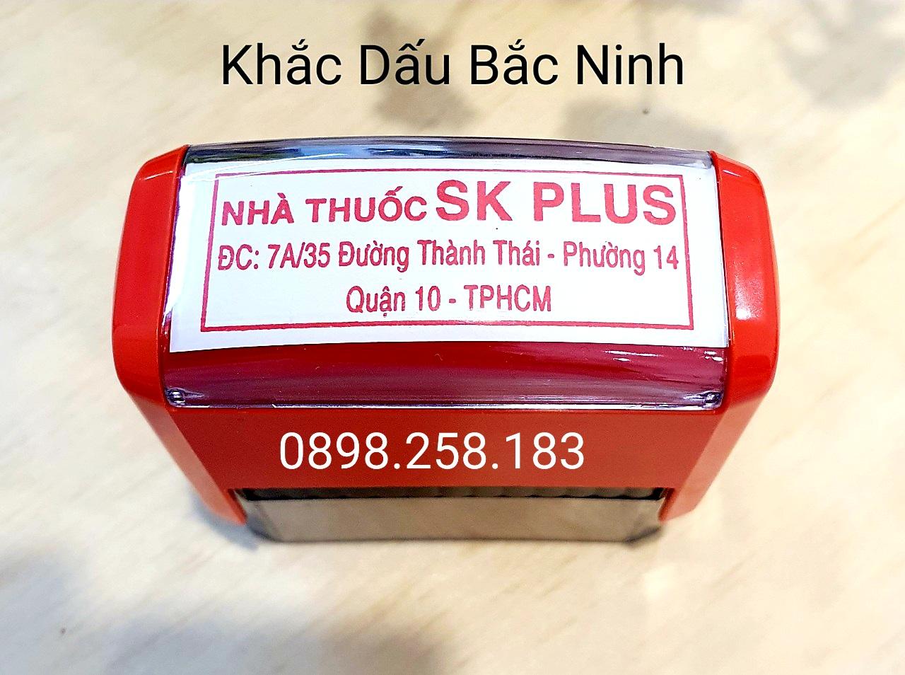 Bạn đang cần làm con dấu vuông cho cửa hàng hãy liên hệ ngay với chúng tôi, dịch vụ khắc dấu vuông tại Bắc Ninh