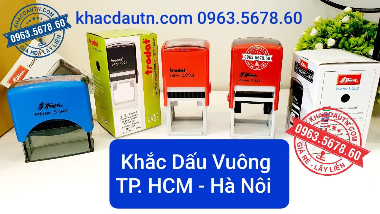 chuyên làm con dấu tại HCM - Hà Nội dịch vụ làm con dấu lấy liền giao hàng tận nơi, xuất HD VAT