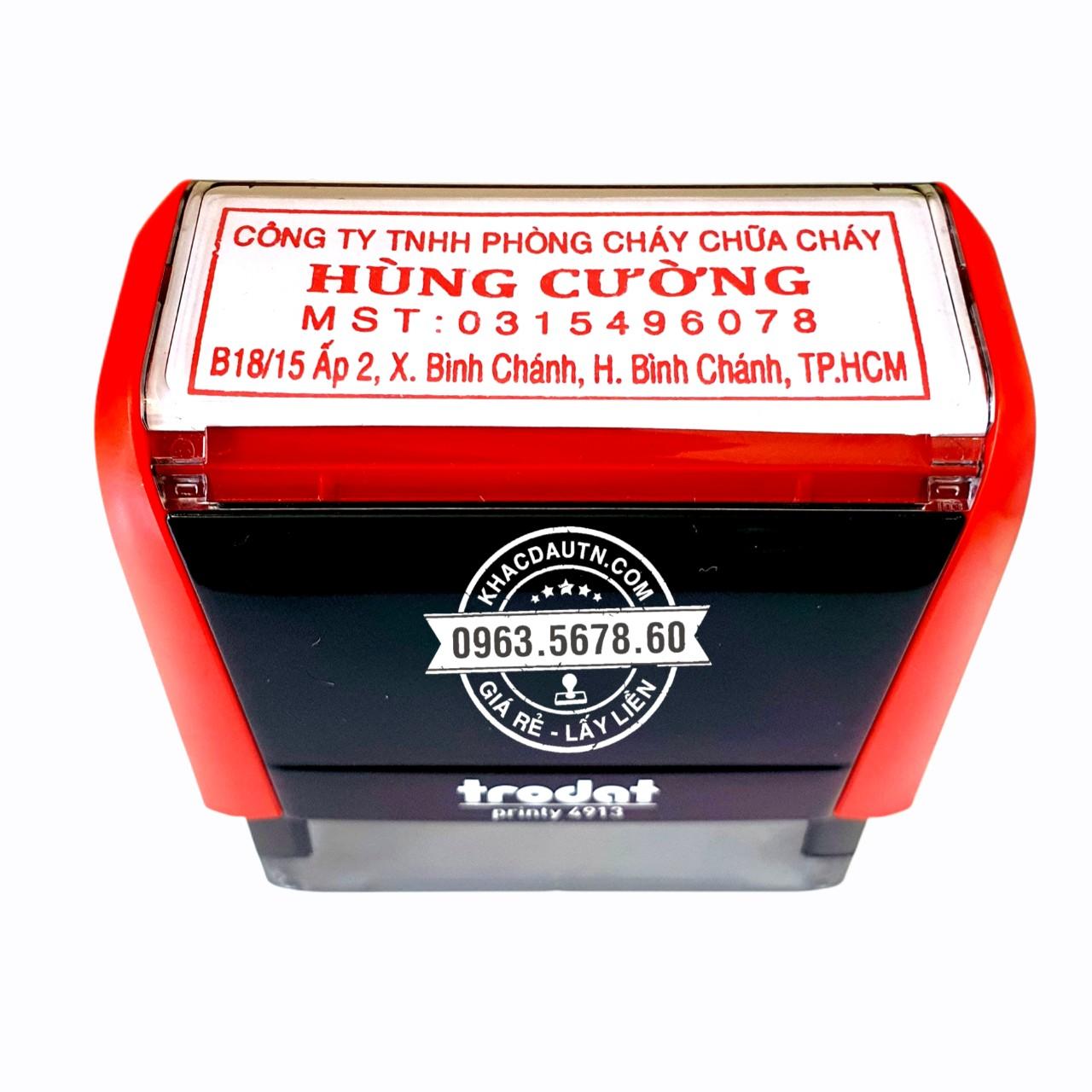 Nhận làm con dấu tại Long Xuyên An Giang dịch vụ làm con dấu uy tín chất lượng tốt.