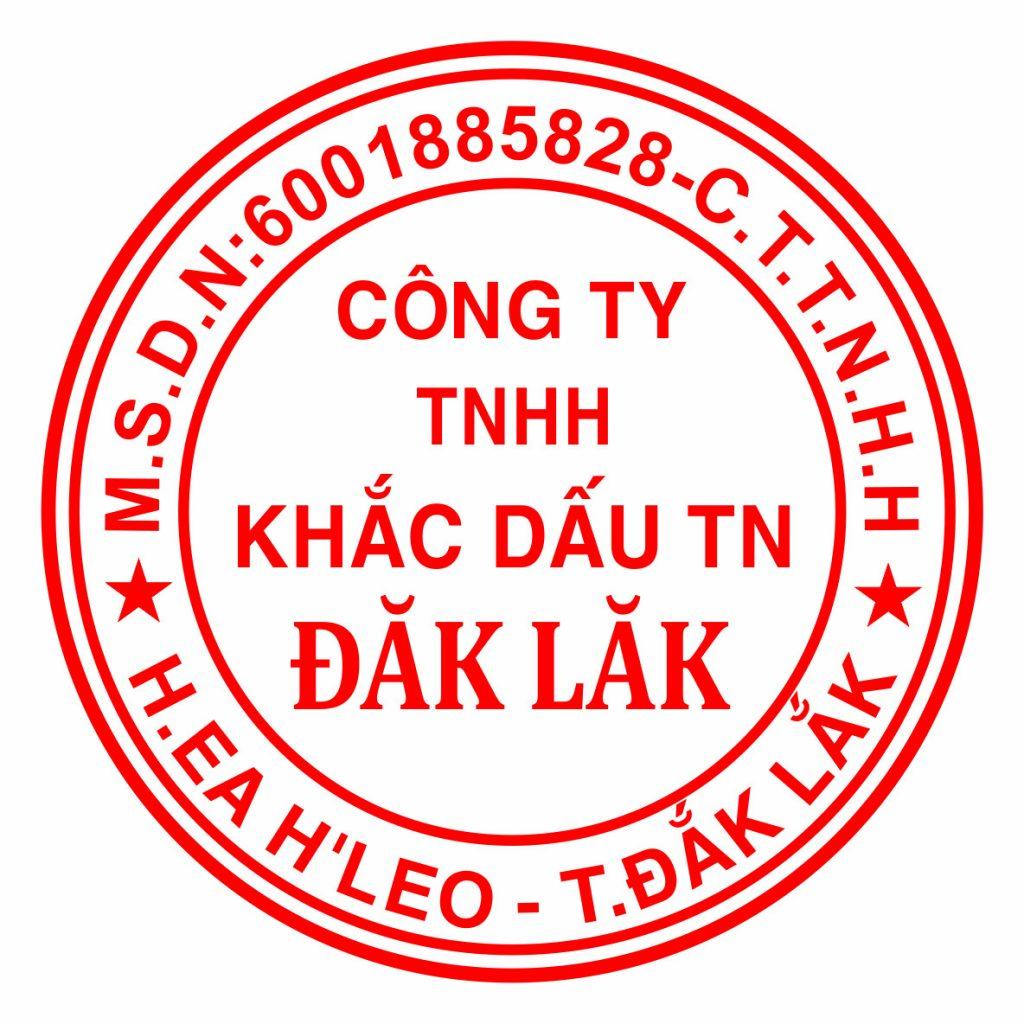 Chúng tôi nhận làm con dấu Tại Đăk Lăk và phân phối các sản phẩm ngành con dấu giá rẻ, Luôn có nhiều ưu đãi giảm giá, Xuất Hóa Đơn VAT10%