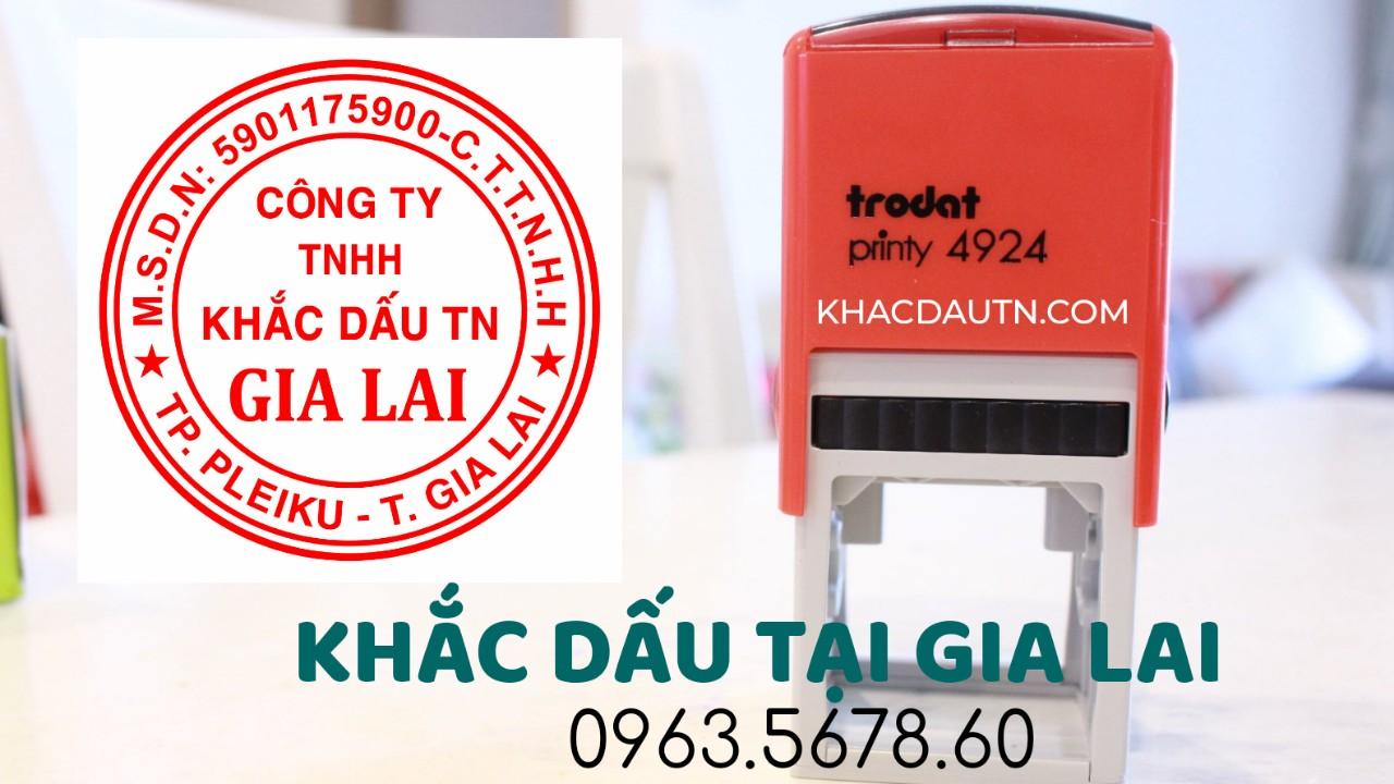 Chuyên cung cấp vật tư ngành con dấu phân phối sản phẩm con dấu tại Gia Lai, Nhận Làm con dấu tròn tại Gia Lai