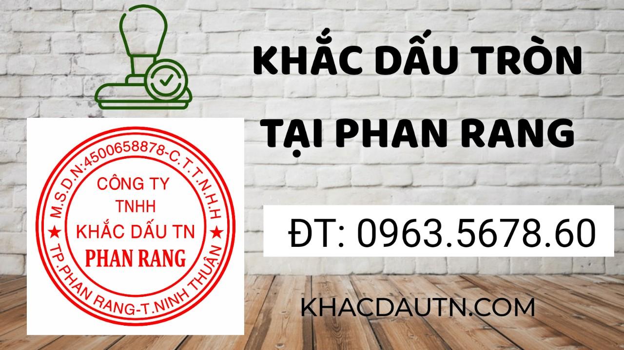 Chuyên dịch vụ khắc con dấu tròn công ty mới thành lập giá rẻ chuất lượng tốt tại Phan Rang Ninh Thuận