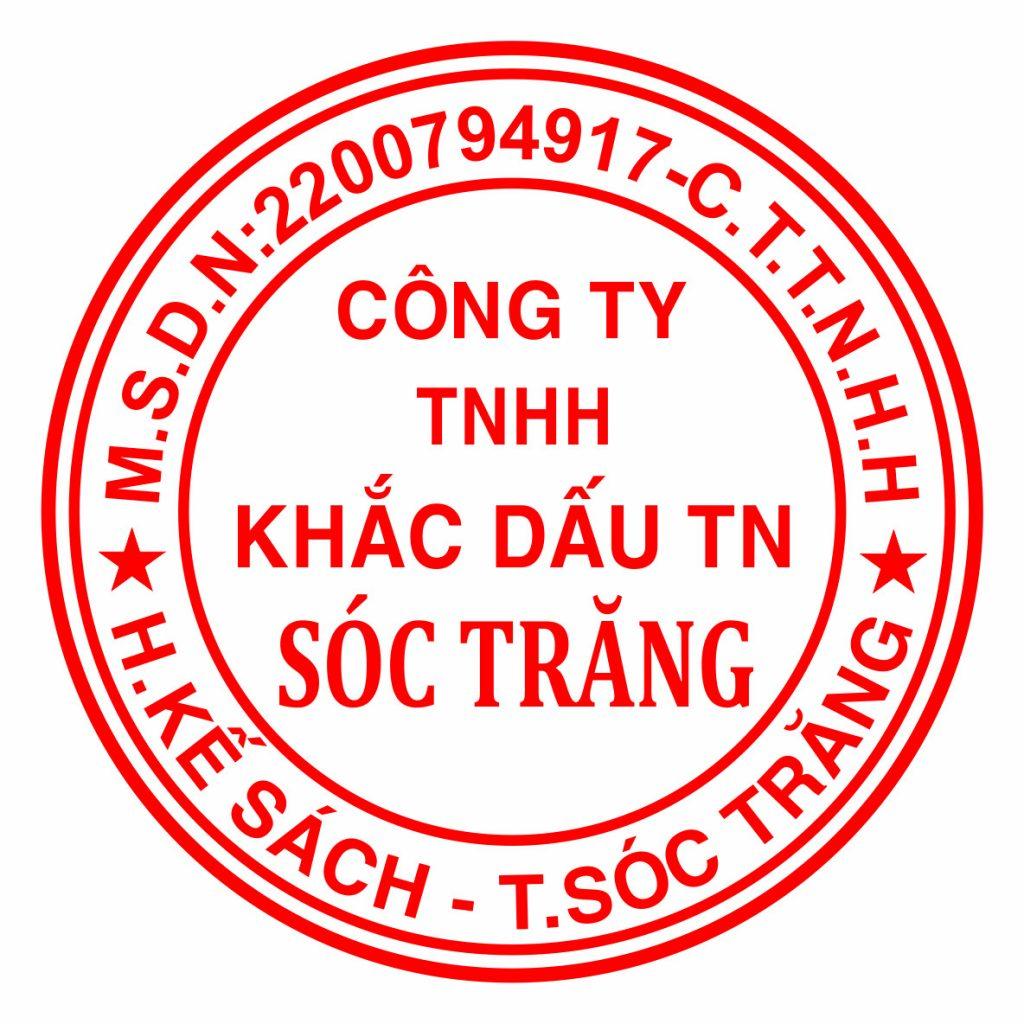 Cửa hàng khắc dấu uy tín chất lượng tại Sóc Trăng, nhận và gia công các loại con dấu lấy nhanh trong ngày