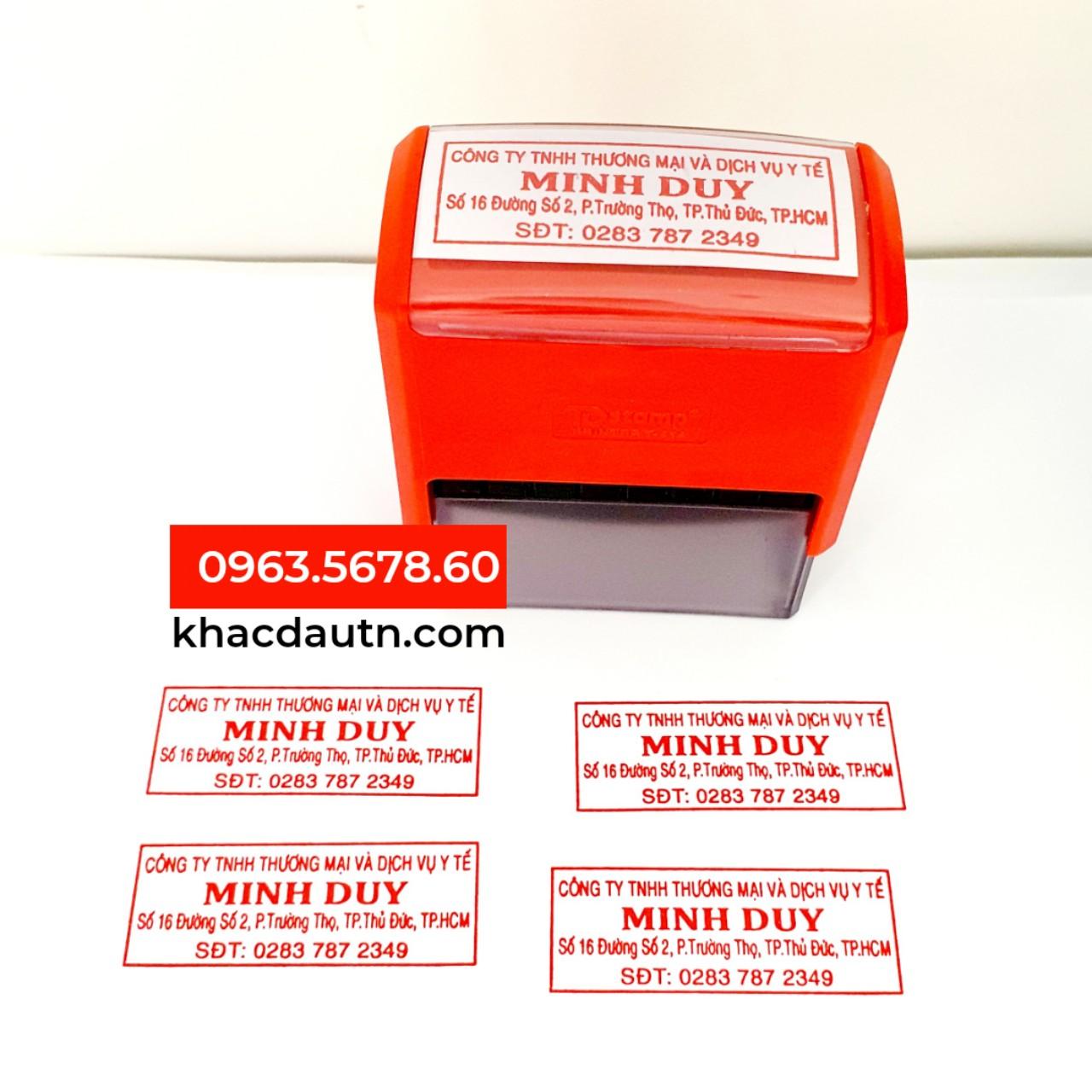 Con Dấu Tên Công Ty - 0963.5678.60 Chuyên Cung Cấp Và Sản Xuất Giao Công Con Dấu - Luôn Có Nhiều Ưu Đãi Giảm - Xuất HD VAT 10%
