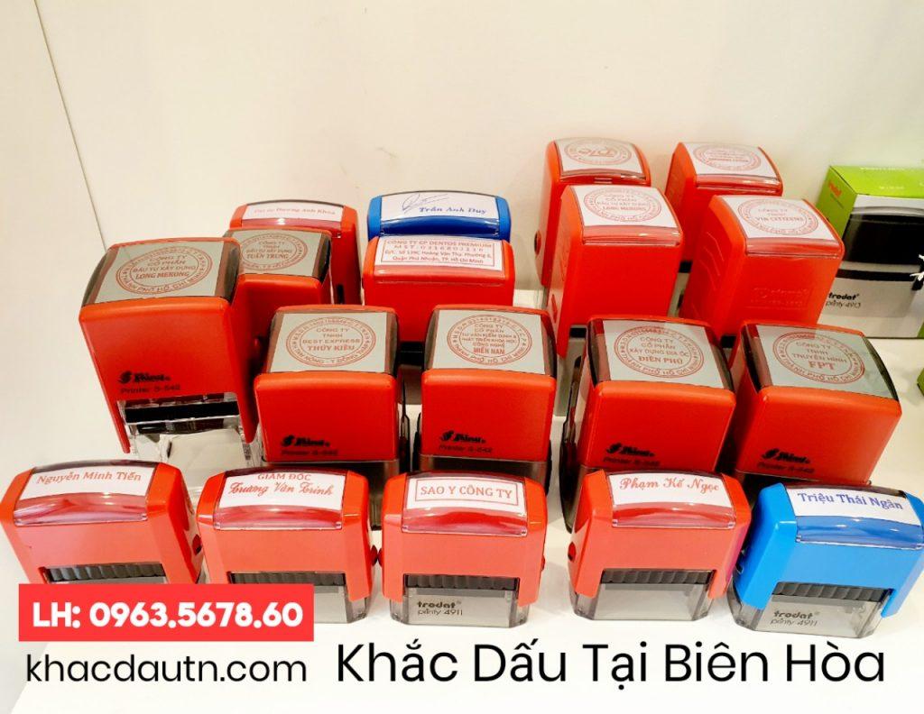 Khắc Dấu Tại Biên Hòa - 0963.5678.60 Chuyên Cung Cấp Và Sản Xuất Giao Công Con Dấu - Luôn Có Nhiều Ưu Đãi Giảm - Xuất HD VAT 10%