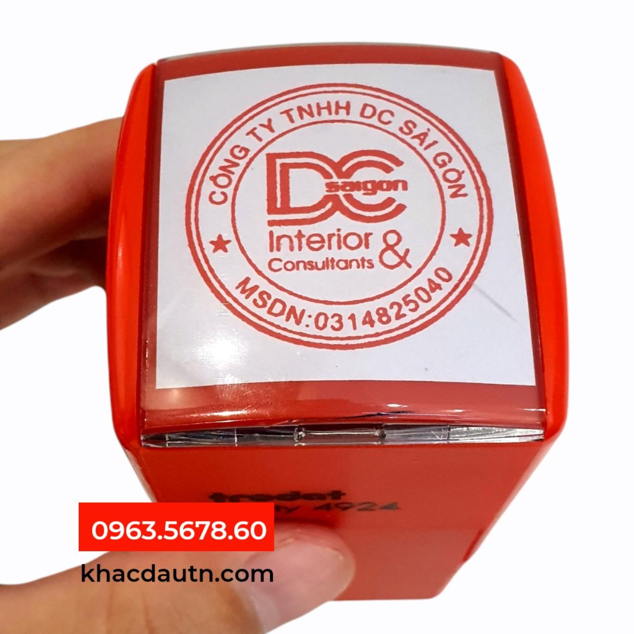 Làm Dấu Tròn Công Ty Có Logo - 0963.5678.60 Chuyên Cung Cấp Và Sản Xuất Giao Công Con Dấu - Luôn Có Nhiều Ưu Đãi Giảm - Xuất HD VAT 10%